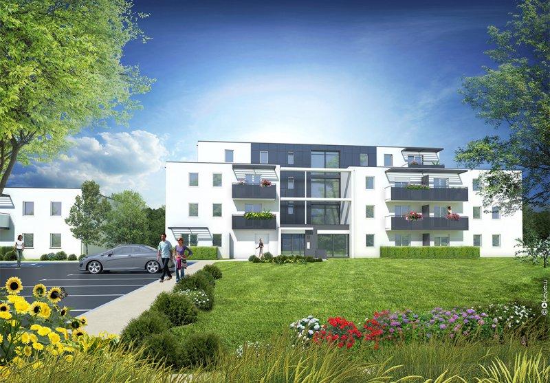Immobilier neuf appartement 2 pieces de 36 m2 33700 for Appartement merignac